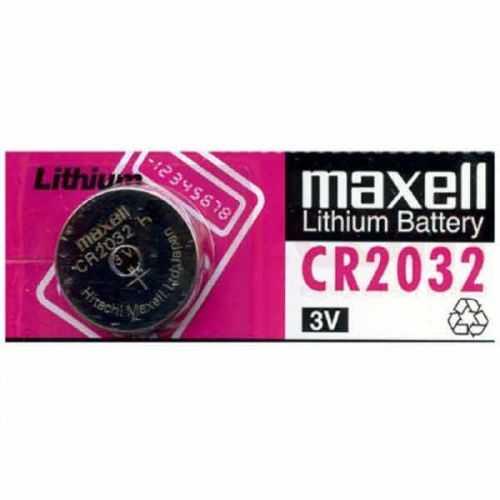 Pila botón litio maxell CR2032 3V