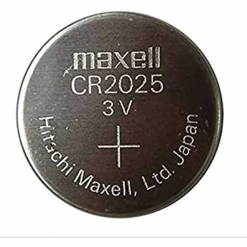 Pila botón litio maxell CR2025 3V