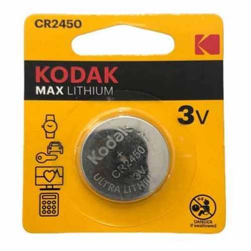 Pila botón litio Kodak CR2450 3V