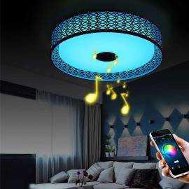 Plafones LED Musicales con altavoz
