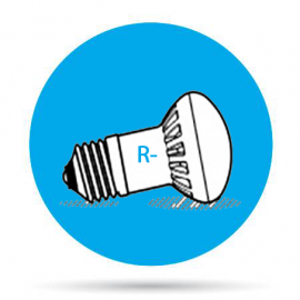 Lámparas LED R50-R63-R80-R90
