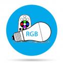 Lámparas LED RGB