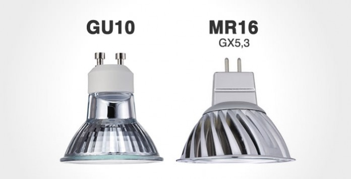 Bombillas LED Gu10 y MR16